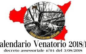 Calendario Regionale Sicilia.Circolari Liberi Cacciatori Siciliani